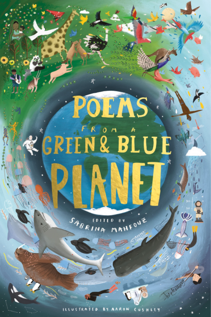 Poems from the Green & Blue Planet by Sabrina Mahfouz