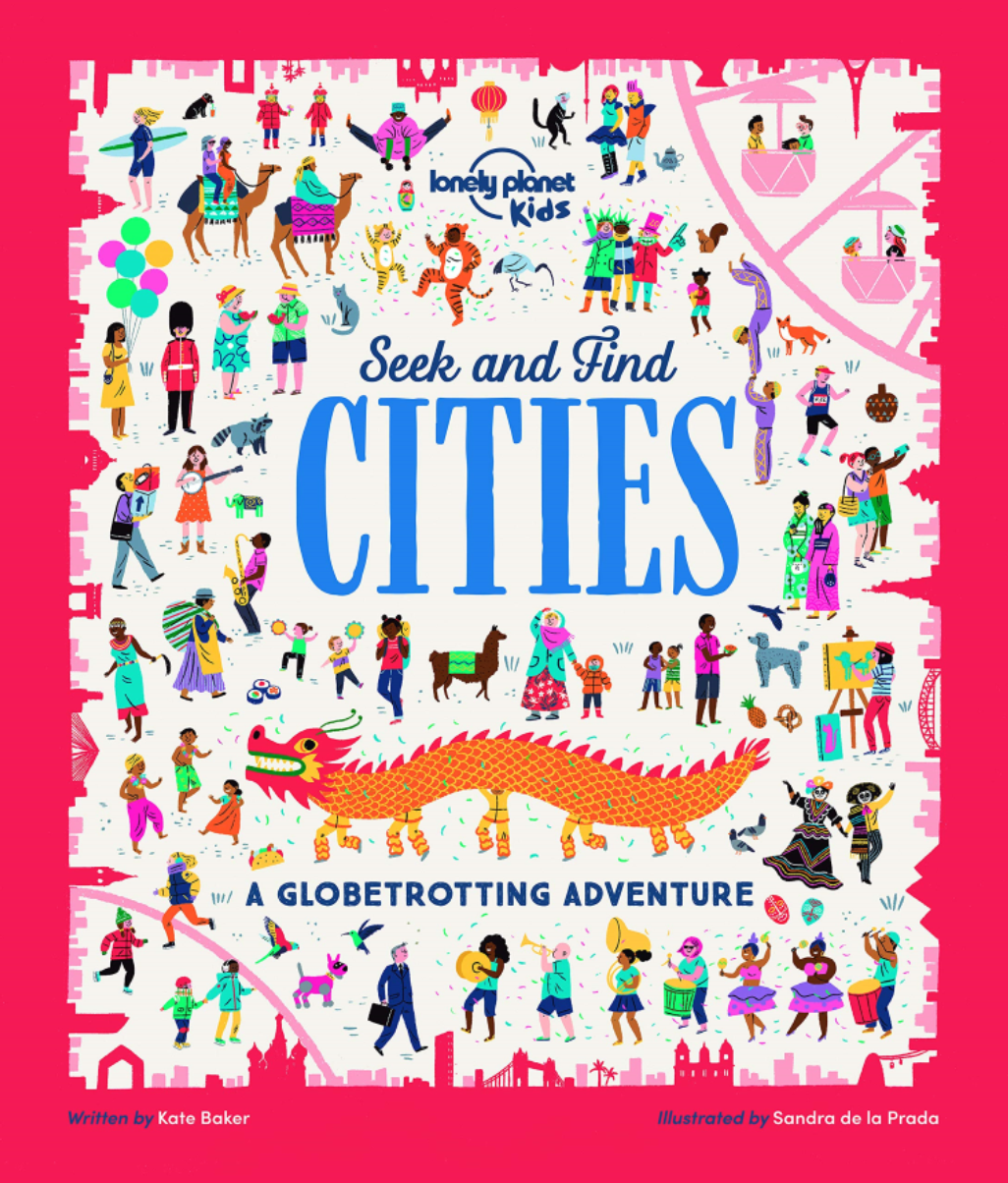 Seek and Find Cities by Kate Baker
