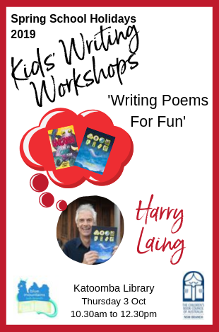 Kids Writing Workshops. Ask at a branch for more details