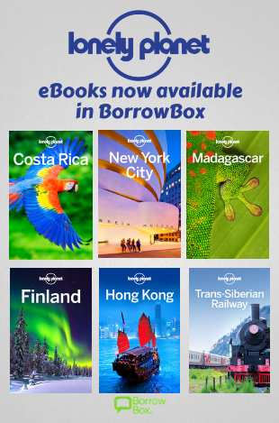 Lonely Planet travel guides available as eBooks. Download the BorrowBox App to get started.