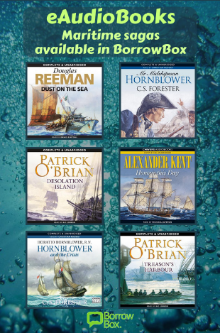 Download the BorrowBox app to access Maritime sagas on eBooks and eAudiobooks