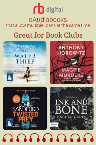 RBdigital app now has a great selection of eAudiobooks that allow multiple loans at the same time - perfect for book clubs.