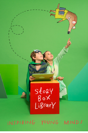 Story Box Library is a collection of online videos of children's books read aloud.